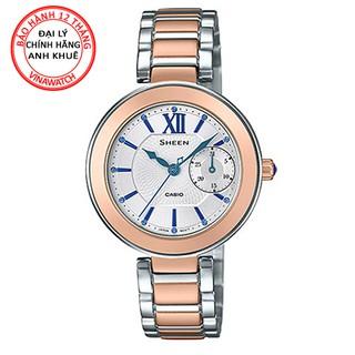 Đồng hồ Nữ Casio dây kim loại kim SHE-3050SG-7AUDR