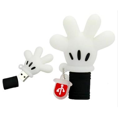 phim hoạt hình động vật mèo USB ổ đĩa flash ổ đĩa 64GB Mickey tay
