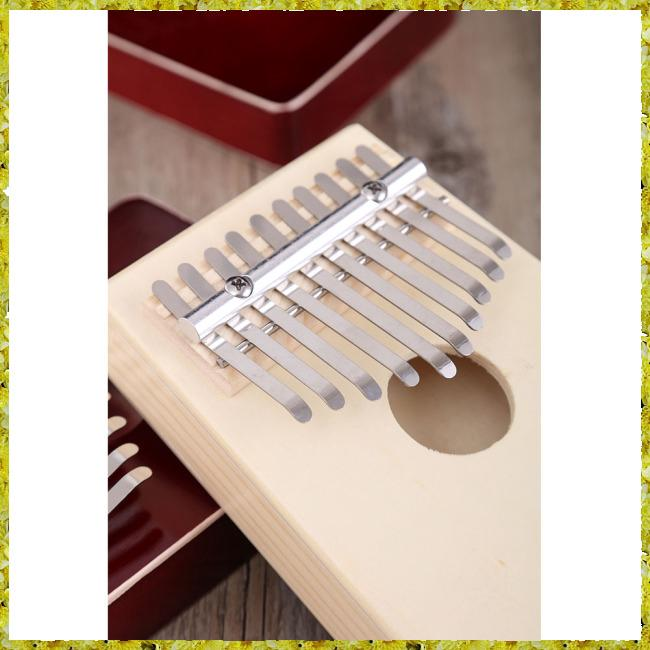 10-key Kalimba Thumb Piano Kids Adults Music Finger Percussion Keyboard