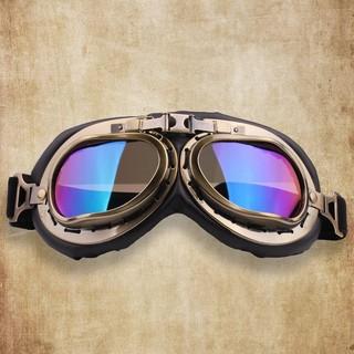 kính phi công lắp mũ bảo hiểm 1/2 và 3/4 / dùng chắn bụi khi đi moto xe mấy