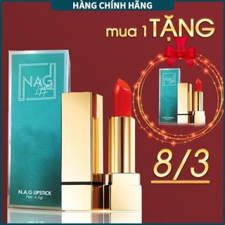 Son lì NAG Lipstick hai màu đỏ cam, đỏ ruby sang trọng cho đôi môi mềm, quyến rũ - N.A.G Beauty thumbnail