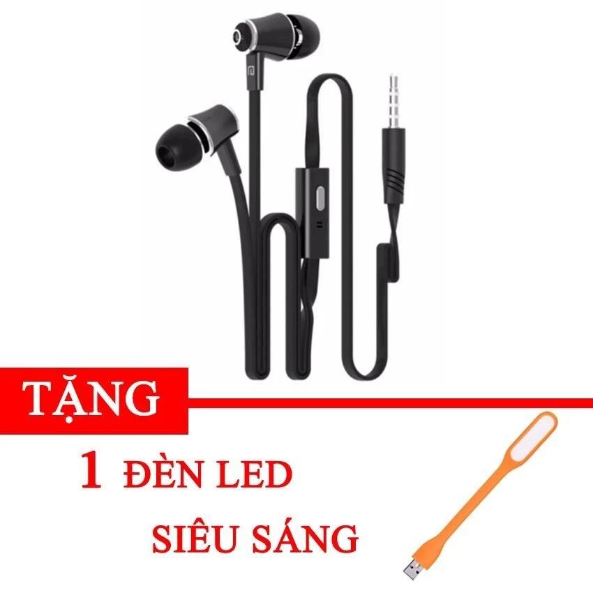 Tai nghe nhét tai earphone Langsdom JM21 Extra Bass tặng kèm đèn led usb -dc2347