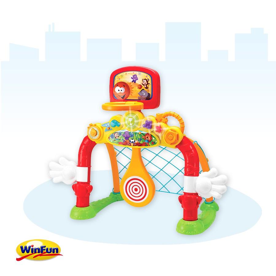 Cột lưới ném thả bóng Winfun 4 in 1 mã 6001
