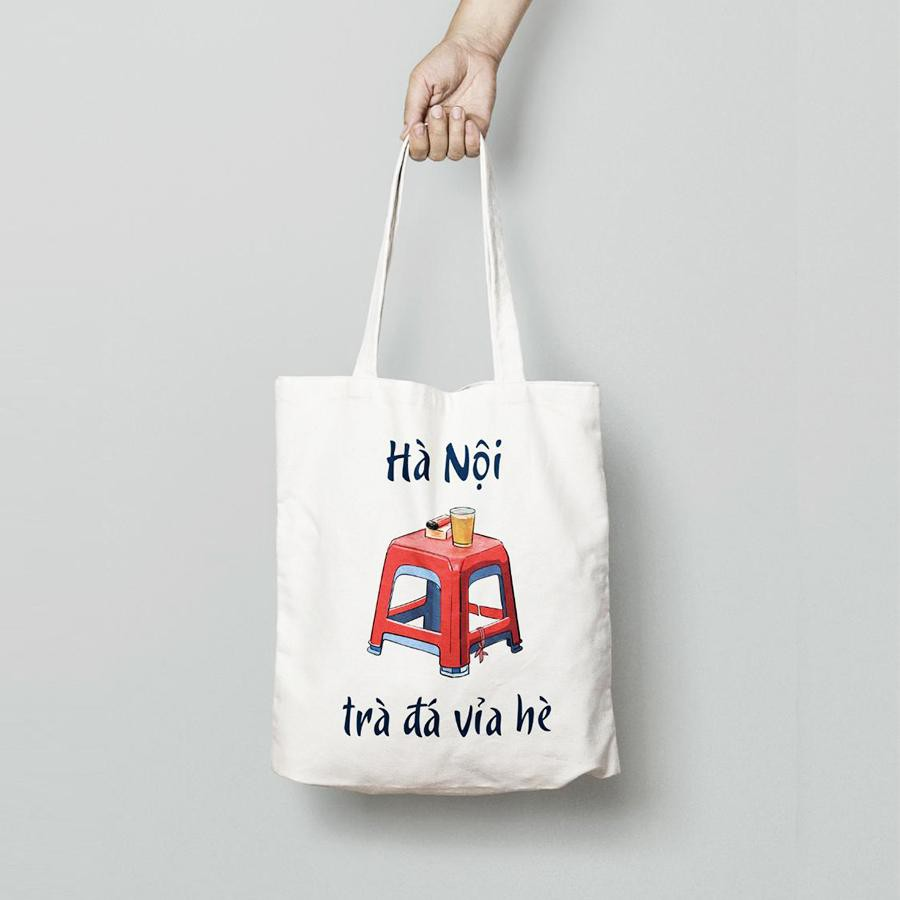 Túi vải TOTE thiết kế - ĐỘC QUYỀN tại SUNNYVALI