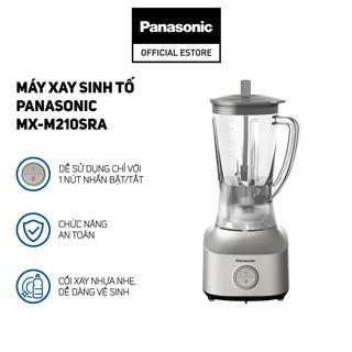 Máy Xay Sinh Tố Panasonic MX-M210SRA - Bảo Hành 12 Tháng - Hàng Chính Hãng
