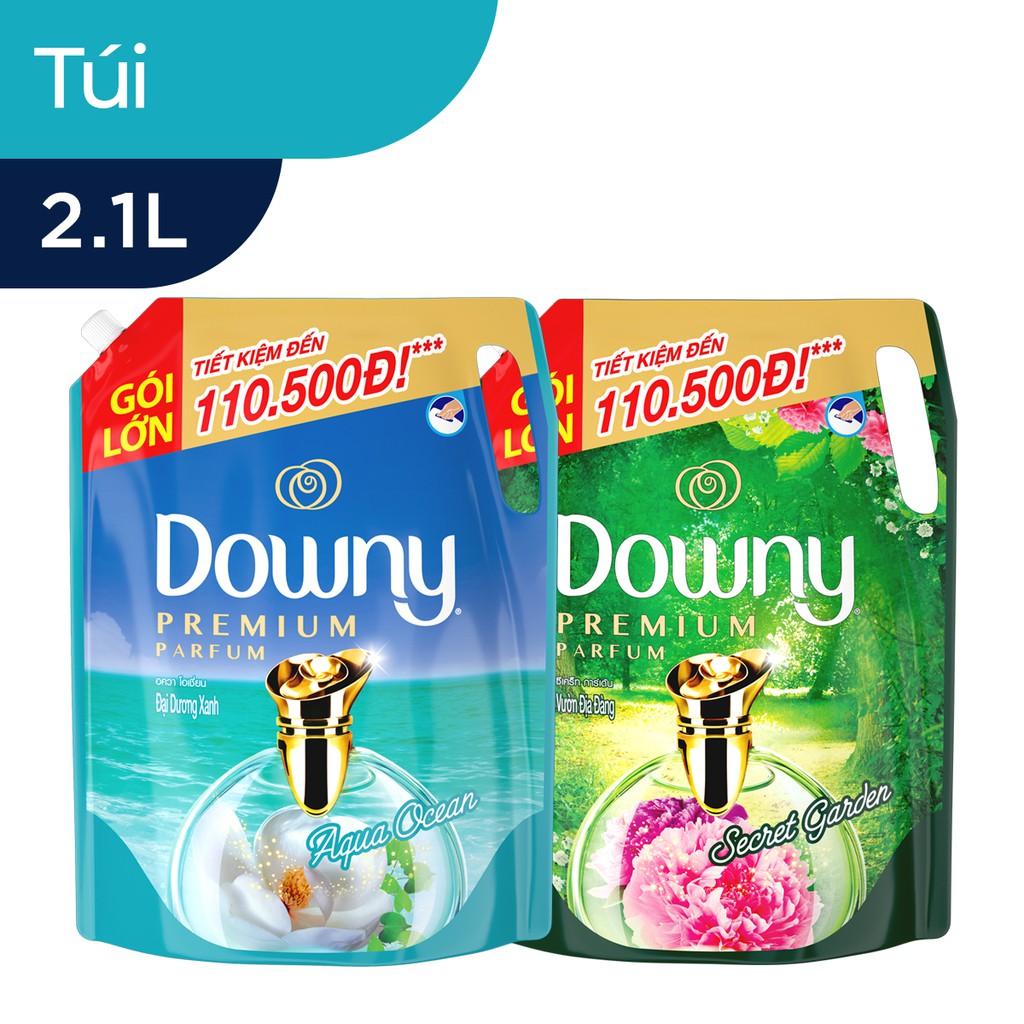 Nước xả vải Downy Premium Parfum Đậm Đặc túi 2.1L