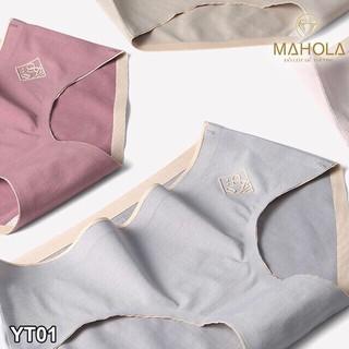 Hình ảnh (Được chọn màu) Quần Lót nữ Cotton100 Tàng Hình không Đường May Diệt Khuẩn - Amyra QL01-7