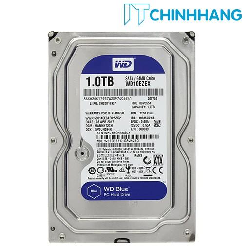 Ổ cứng gắn trong HDD WD 1Tb - SATA3 (BLUE) - 7200rpm EZEX - HÃNG PHÂN PHỐI CHÍNH THỨC - 3481597 , 995631130 , 322_995631130 , 1009000 , O-cung-gan-trong-HDD-WD-1Tb-SATA3-BLUE-7200rpm-EZEX-HANG-PHAN-PHOI-CHINH-THUC-322_995631130 , shopee.vn , Ổ cứng gắn trong HDD WD 1Tb - SATA3 (BLUE) - 7200rpm EZEX - HÃNG PHÂN PHỐI CHÍNH THỨC