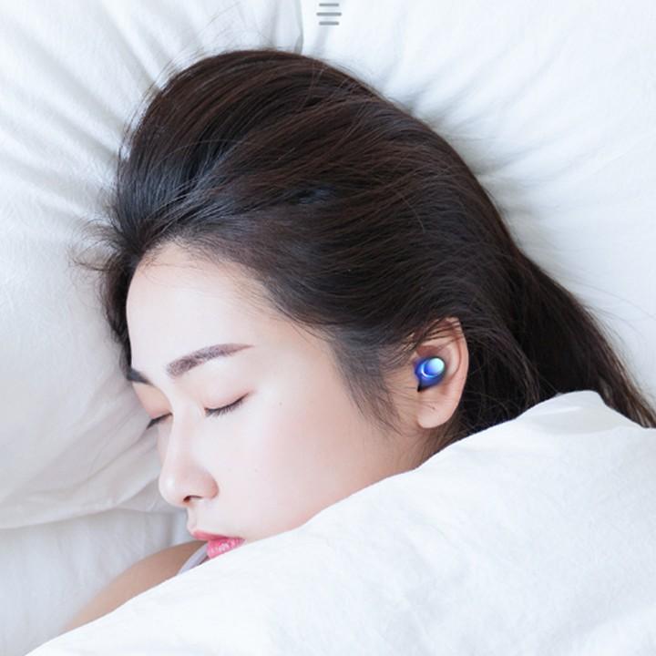 Tai nghe Amoi F9 pro 2021,bluetooth 5.0,kháng nước ipx7,pin dock sạc 2000 mAh| Phiên bản quốc tế| Tặng túi lưới