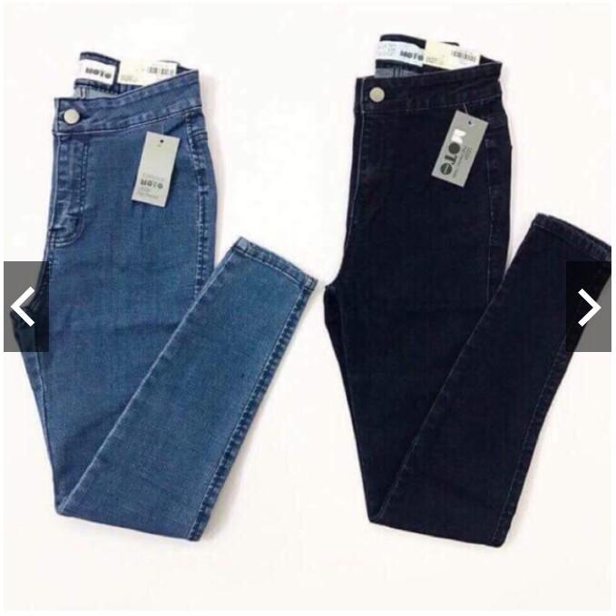 [Mã WASEPRN hoàn 20% xu đơn 99k] quần jean nữ lưng cao ĐAI TRƠN fome ôm chất siêu giãn siêu đẹp 3325 ( HÌNH THẬT )