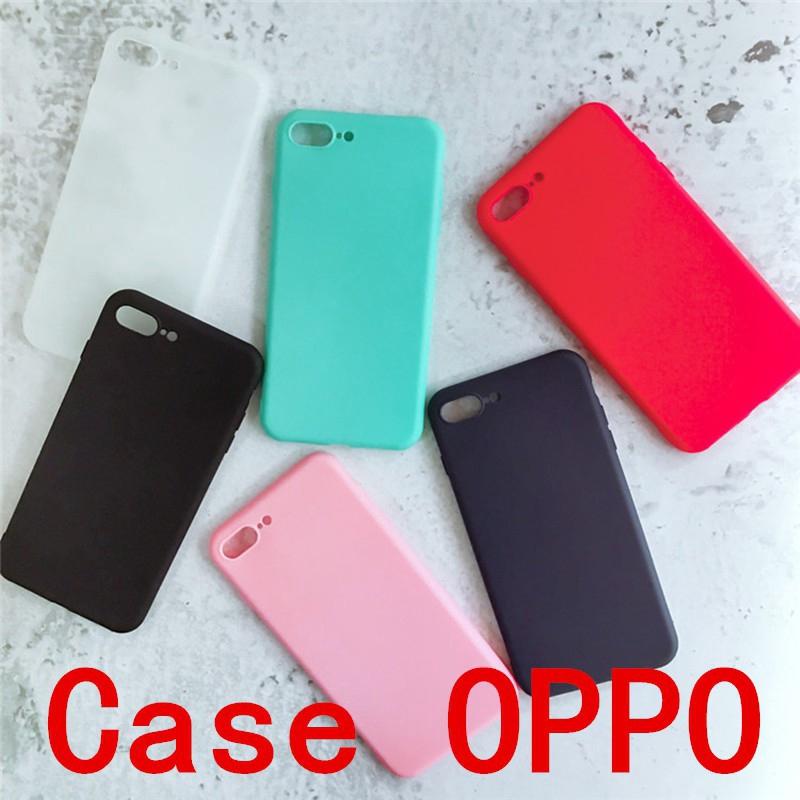 Ốp điện thoại trơn cho OPPO F7Youth F3 A77 A5 A3S A59 F1S R9S+ F3+ R9S A33 NEO7 A71 R9 F1+ F5 F7 A39 A57 A37 NEO9 A83