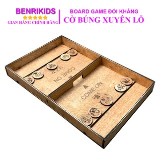 Bộ Cờ Búng Xuyên Lỗ Benrikids,Board Game Vui Nhộn