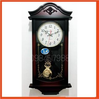 [Hàng loại 1] Đồng hồ treo tường quả lắc KASHI HA1