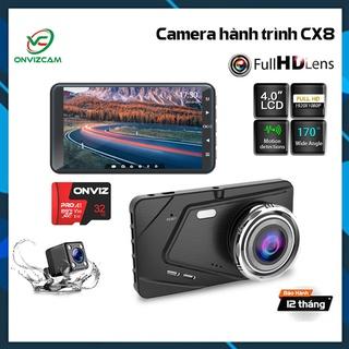 [Mã 229ELSALE hoàn 7% đơn 300K] Camera hành trình ô tô trước sau Full HD 1080P, ống kính kép siêu bền thumbnail