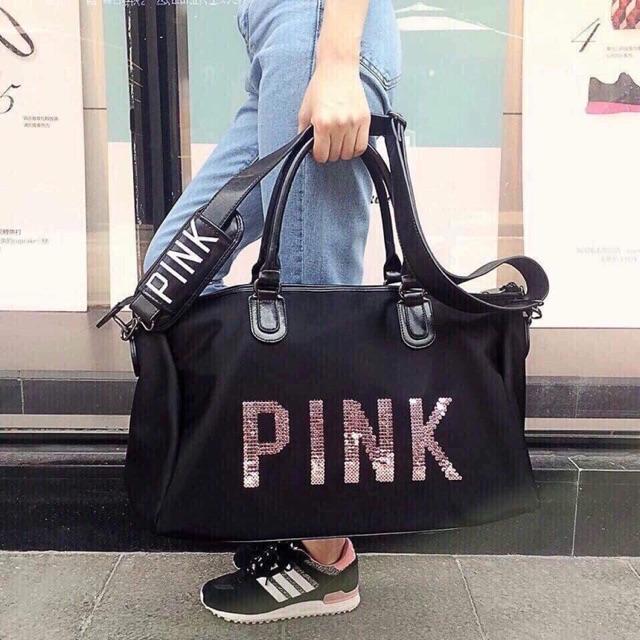 Túi pink du lịch hàng siêu đẹp