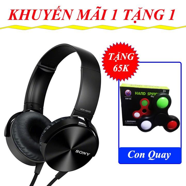 Mua 1 Tặng 1 - Tai Nghe Headphone XB450AP + Con Quay Tốc Độ Giảm Stress