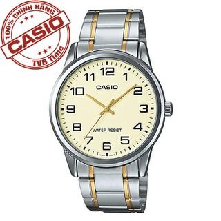 Đồng hồ nam dây kim loại Casio Standard chính hãng Anh Khuê MTP-V001SG-9BUDF (38mm)