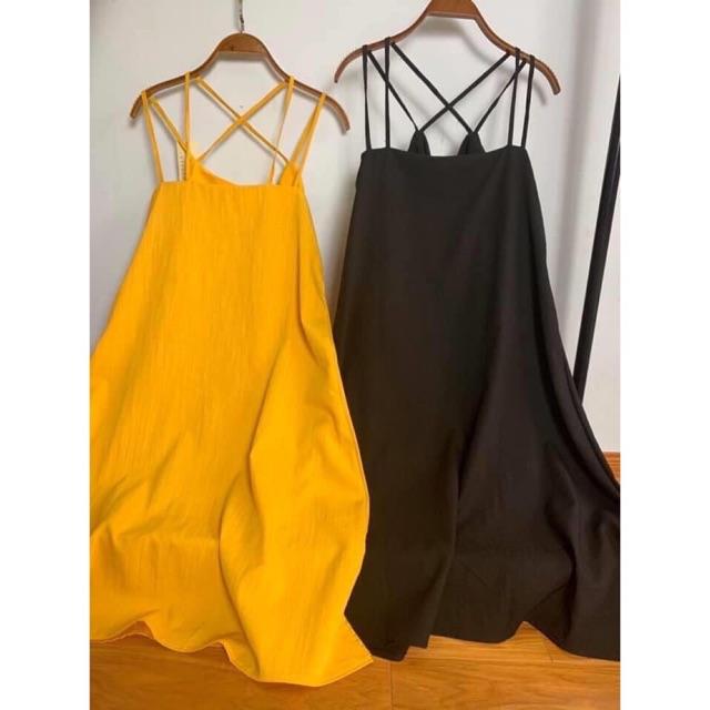 Váy 2 dây đi biển xinh xắn 3 màu