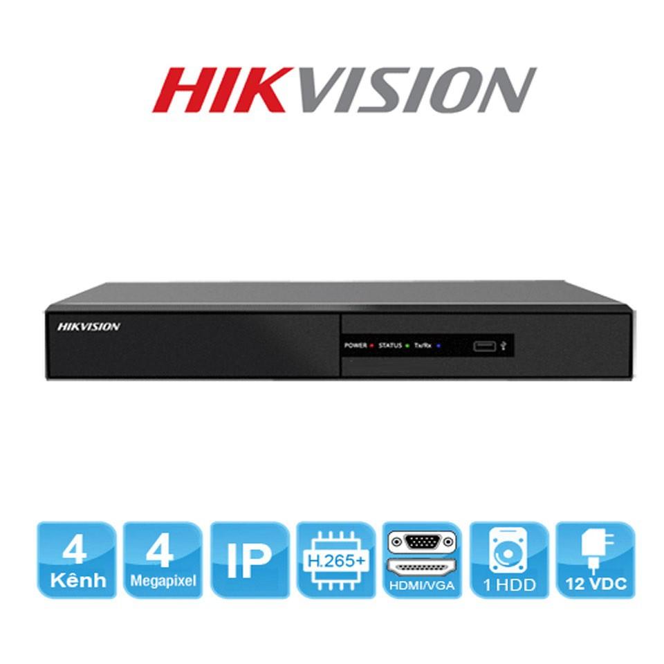 Đầu ghi hình camera IP 4 kênh HIKVISION DS-7104NI-Q1/M & DS-7104NI-Q1/4P/M