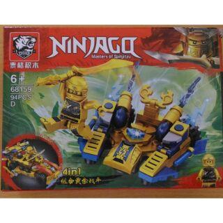 Bộ xếp hình Lego Ninjago 68159 các bản A/B/C/D, 94 chi tiết