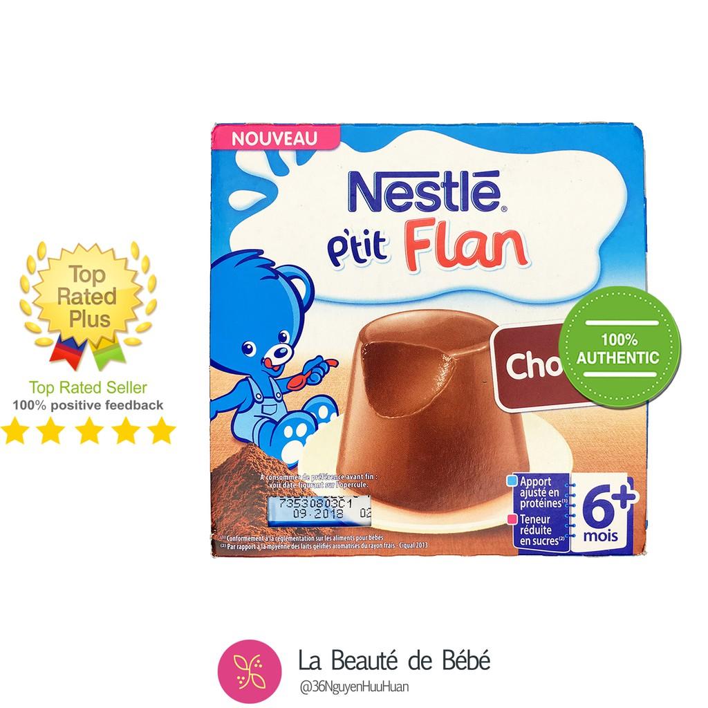 Bánh Flan Nestle cho bé từ 6 tháng [HSD 6 Tháng Kể Từ Ngày Sản Xuất]
