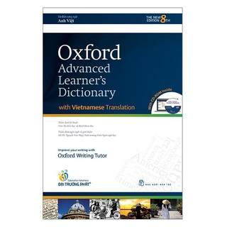 Từ điển: Oxford Advanced Learner's Dictionary 8th Edition(Anh - Anh Việt) Kèm đĩa CD