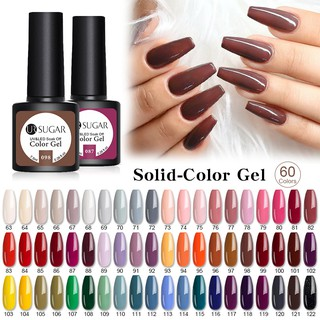UR SUGAR 7.5ml Soak Off Nail Art UV LED Gel thumbnail
