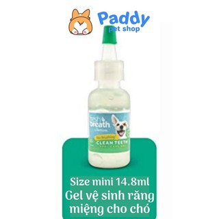 [Trial 14.8ml] Gel vệ sinh răng miệng chó mèo TropiClean (Nhập khẩu Mỹ) thumbnail