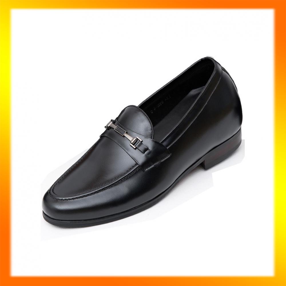 [FREESHIP+TẶNG TẤT CAO CẤP] Giày công sở nam tăng chiều cao 6cm-Giày tây nam tăng cao