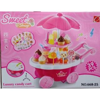 HOT HOT.. [Mã TOYNOV giảm 10% tối đa 15K đơn từ 50K] đồ chơi xe đẩy kem cho bé