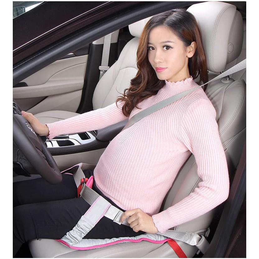 Không nên lái xe trong 3 tháng đầu và 3 tháng cuối của thai kỳ