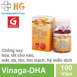 Dầu gấc Vinaga DHA - Sáng mắt, đẹp da, chống oxy hóa. Giúp trẻ ăn ngon, chóng lớn (Hộp 100 viên nang) thumbnail