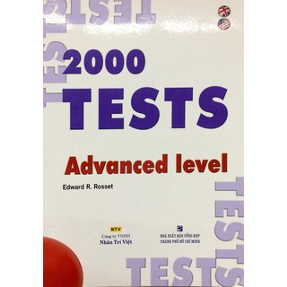 Sách - 2000 tests (Advanced level)