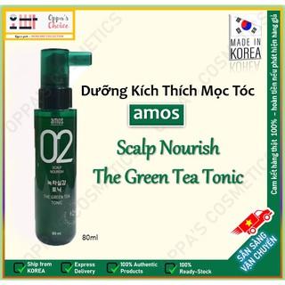 Dầu dưỡng Kích Thích Mọc Tóc AMOS SCALP NOURISH THE GREEN TEA TONIC thumbnail