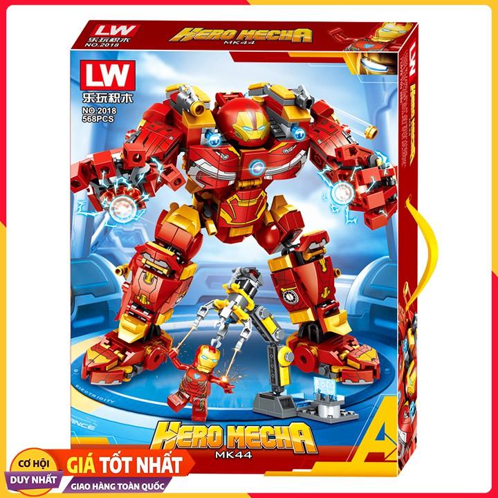 Bộ Xếp Hình Lego Ninjago Iron Man 2018/568 Chi Tiết. Lego Xếp Hình Đồ Chơi Thông Minh Cho Bé.