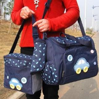 Bộ 3 túi xách bỉm sữa cho mẹ và bé