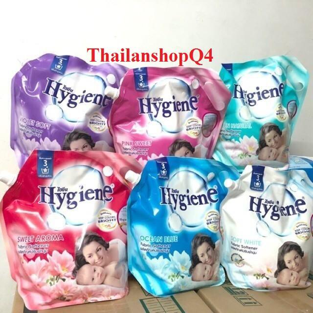 [Mã 267FMCGSALE giảm 8% đơn 500K] HCM- Nước xả Hygiene túi 1.8l Thái Lan
