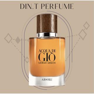 [DIN.T Perfume] - Nước Hoa Acqua Di Gio Absolu 10ml thumbnail
