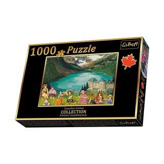 """(Có sẵn) Tranh ghép hình 1000 mảnh """"Lake Louise"""", Trefl"""