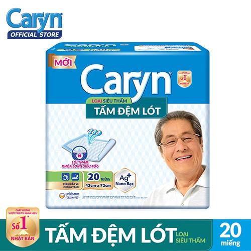 Tấm đệm lót Caryn siêu thấm và mỏng nhẹ 20 miếng _ 8934755040160 - 3550205 , 1105344678 , 322_1105344678 , 116000 , Tam-dem-lot-Caryn-sieu-tham-va-mong-nhe-20-mieng-_-8934755040160-322_1105344678 , shopee.vn , Tấm đệm lót Caryn siêu thấm và mỏng nhẹ 20 miếng _ 8934755040160