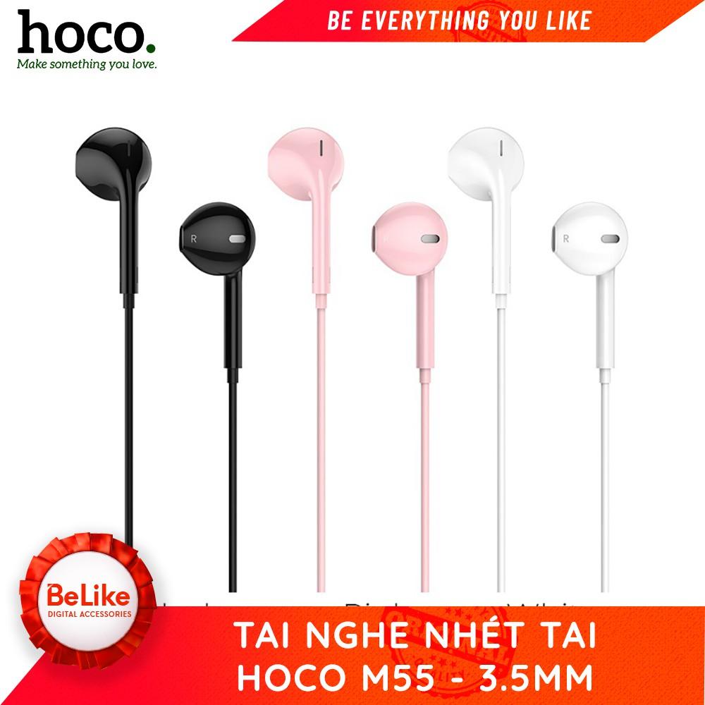 Tai nghe có dây Hoco M55 - Hàng chính hãng - BH 6 tháng