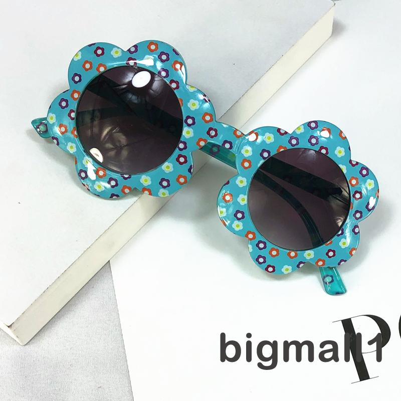 ✨-Kids Sunglasses, Cute Flower Shaped Sunglasses with UV Protection Round Lens