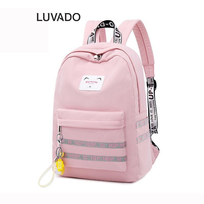Balo nữ đẹp thời trang cao cấp CLASSIC DIAMOND đi học dễ thương LUVADO BL106