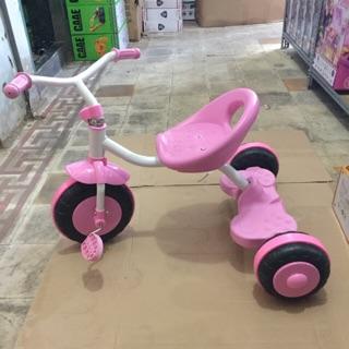Xe đạp ba bánh cho bé từ 3 tuổi (màu hồng)