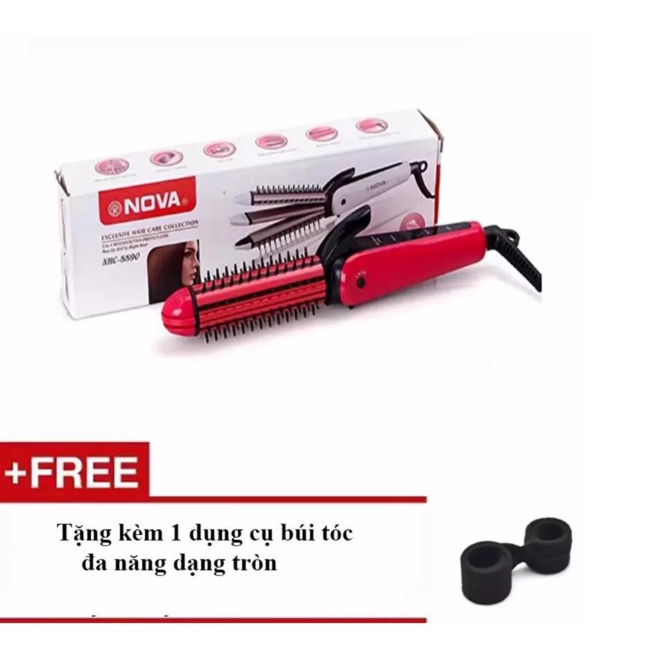 Máy tạo kiểu tóc 3in1 MD 8890+Tặng 1 dụng cụ búi tóc VRG009059 - MS2 + vrg007991778