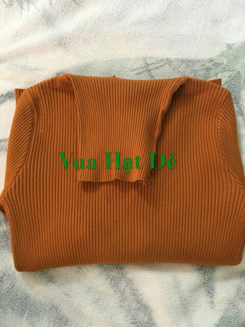 Áo len nữ cổ lọ ,cổ bẻ , áo len gân nhiều màu kiểu Hàn Quốc ( Len loại 1 )