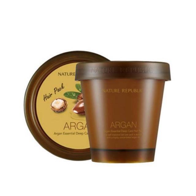 [Cam Kết Chuẩn Auth] Kem Ủ Tóc Argan Essential Deep Care Hair Pack