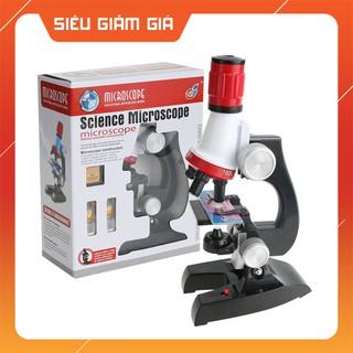 Bộ kính hiển vi LED 1200X dùng nghiên cứu khoa học cho bé – K1039