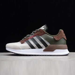 video+ảnh thực] Giày Sneaker XPLR 2019 White/Brown-ArmyGreen