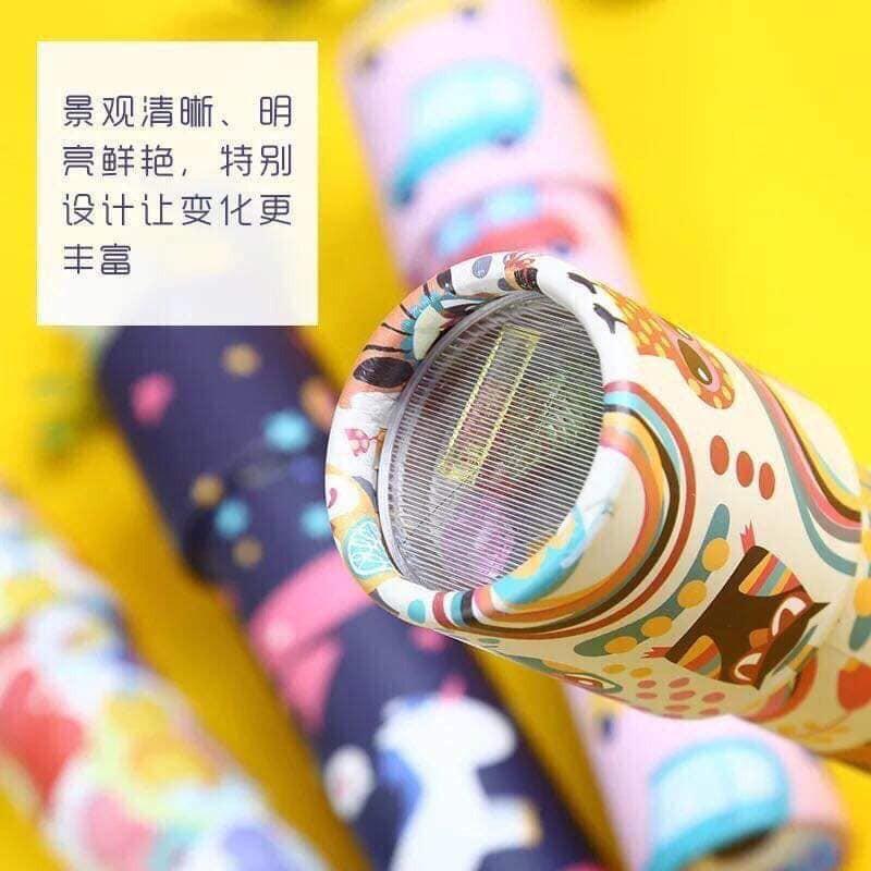 Ống nhòm kính vạn hoa đủ sắc màu cho bé tư duy KT 20x4.2cm mã skuu LO2466